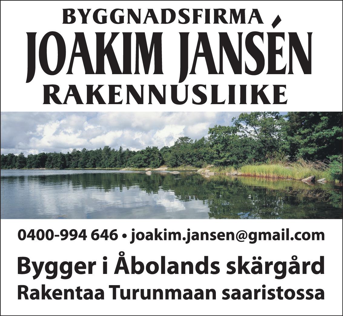 Rakennusliike Joakim Jansen