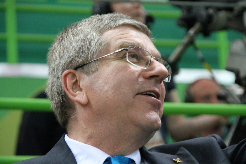 IOC:n presidentti Thomas Bach