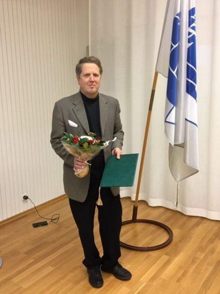 Kaj R. Blomqvist, Käsipalloliiton kunniajäsen #18